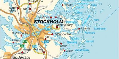 Cartina Mondo Ikea.Stoccolma Mappa Mappe Di Stoccolma Sodermanland E Uppland Svezia